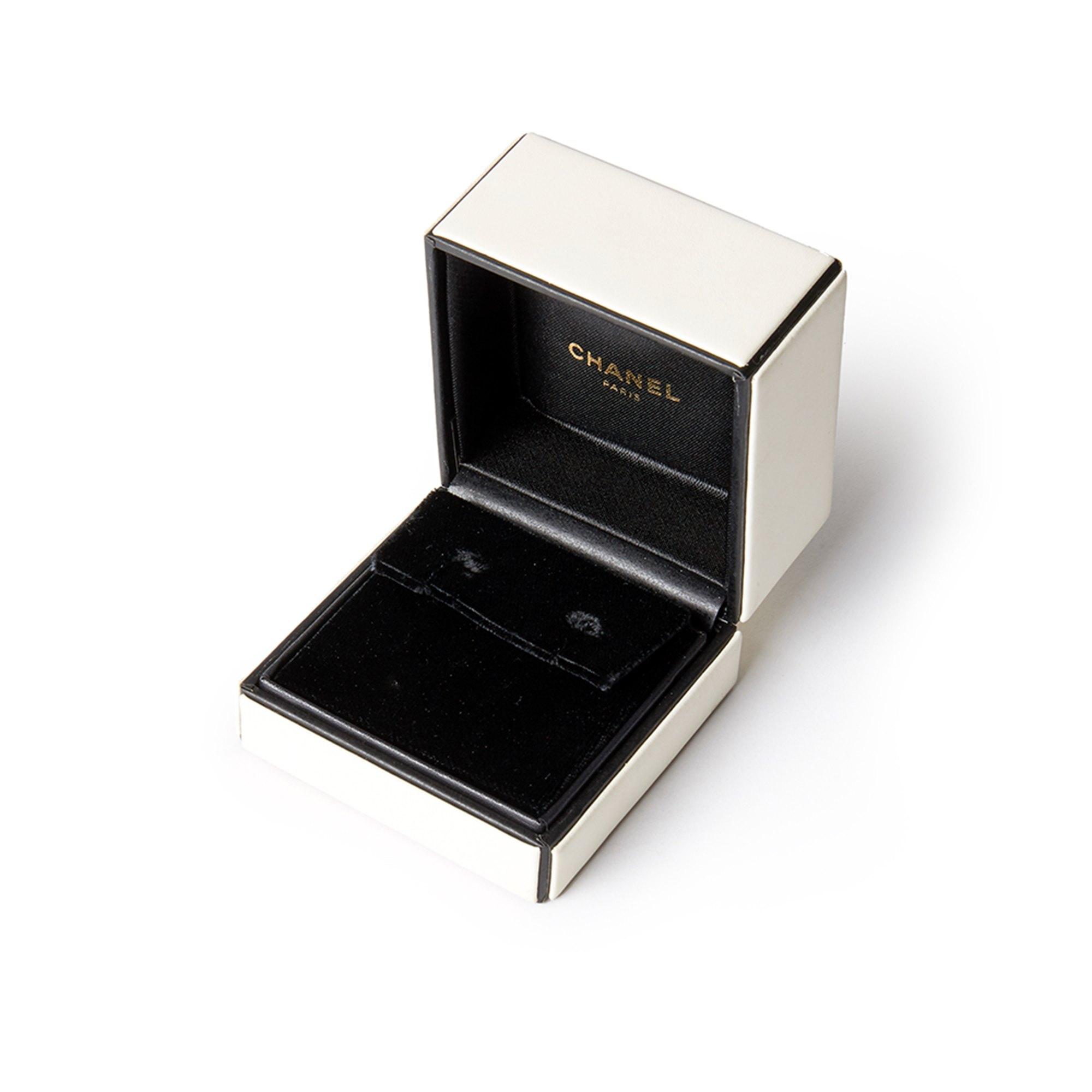 Chanel 18k Yellow Gold Amethyst Peridot Baroque Earrings