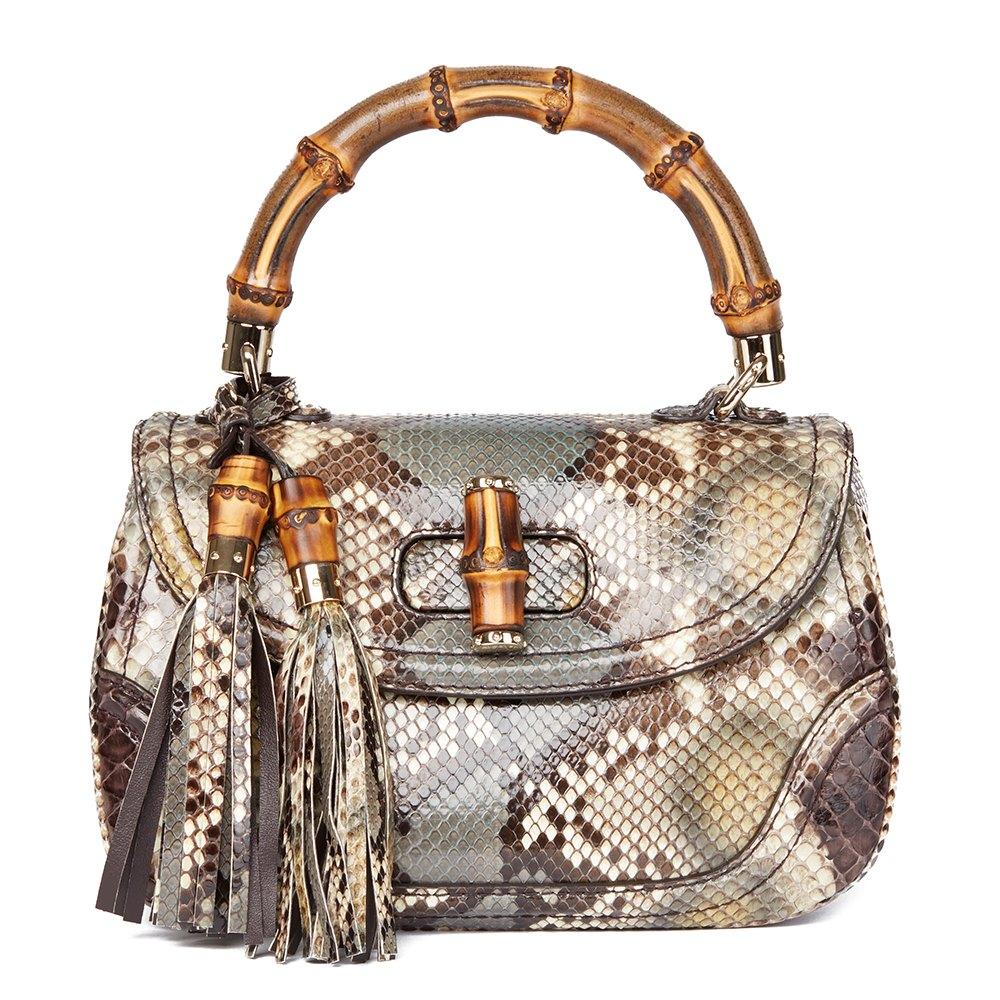 823fafcf9b6a Gucci Bamboo Classic Top Handle 2010 HB1561 | Second Hand Handbags