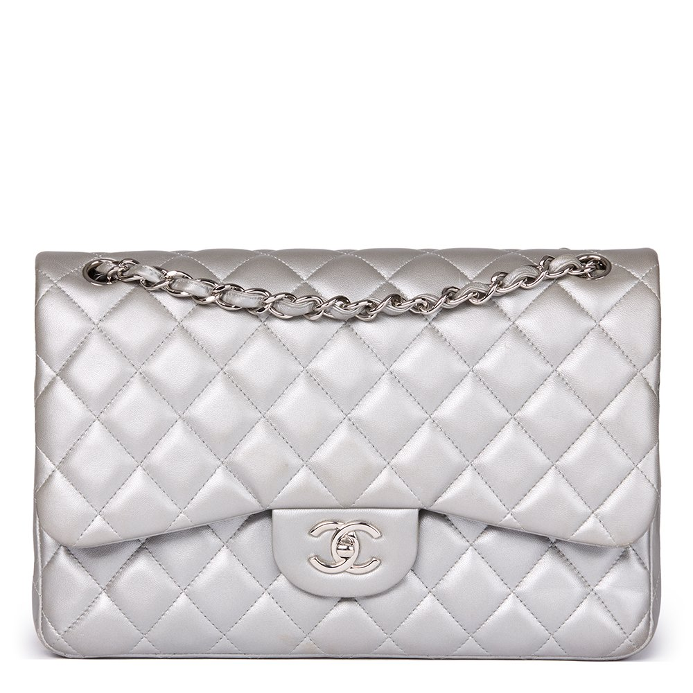 1afafe5372aec2 Chanel Jumbo Classic Double Flap Bag 2013 HB1568 | Second Hand Handbags
