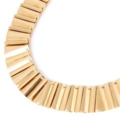 Georg Jensen 18k Yellow Gold Vintage Necklace