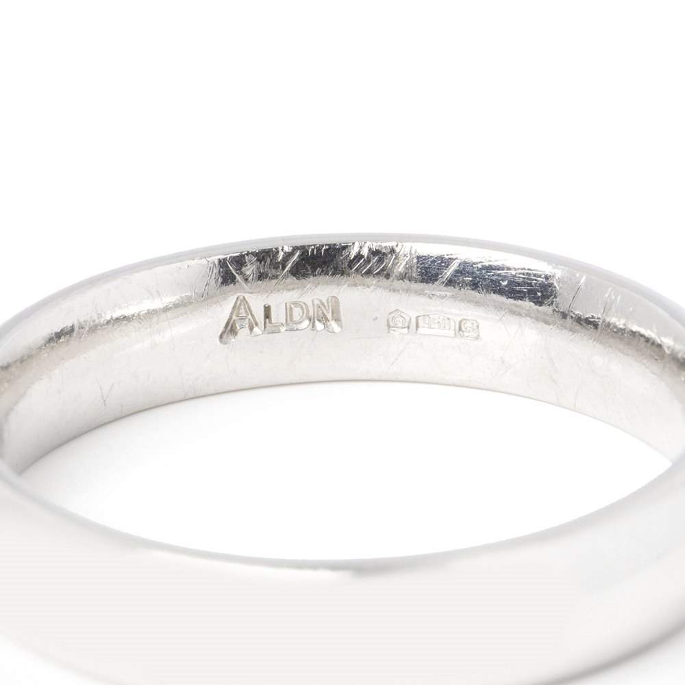 Asprey Platinum Heavy 4mm Wedding Band