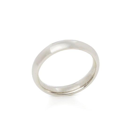 Asprey Platinum Heavy 4mm Wedding Band
