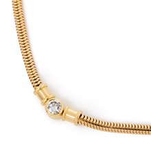 Theo Fennell 18k Yellow Gold Diamond Necklace