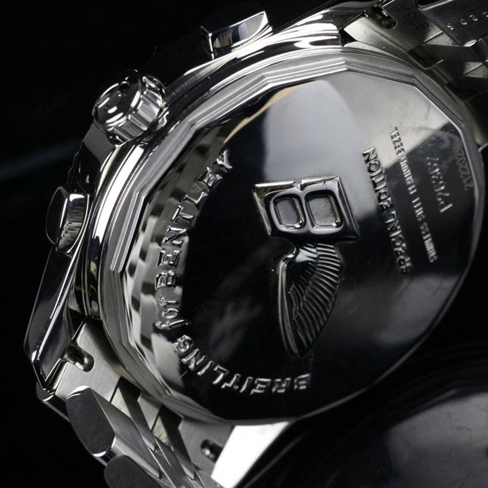 Breitling Bentley MK VI Stainless Steel/Platinum Bezel