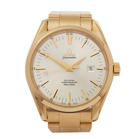 Omega Seamaster 18K Yellow Gold