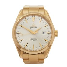 Omega Seamaster 18K Yellow Gold