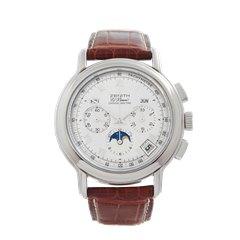 Zenith El Primero Chronomaster Chronograph Stainless Steel - 10240410