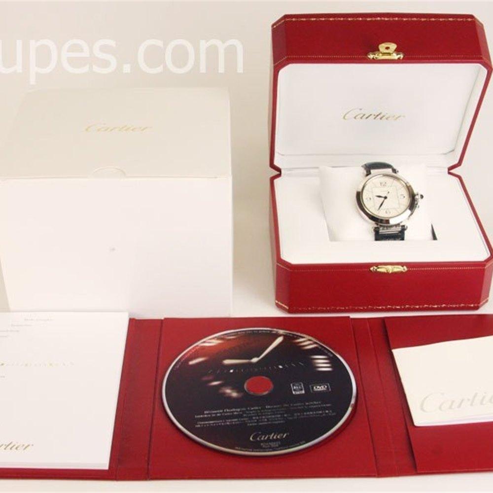 Cartier Pasha 18k White Gold ******