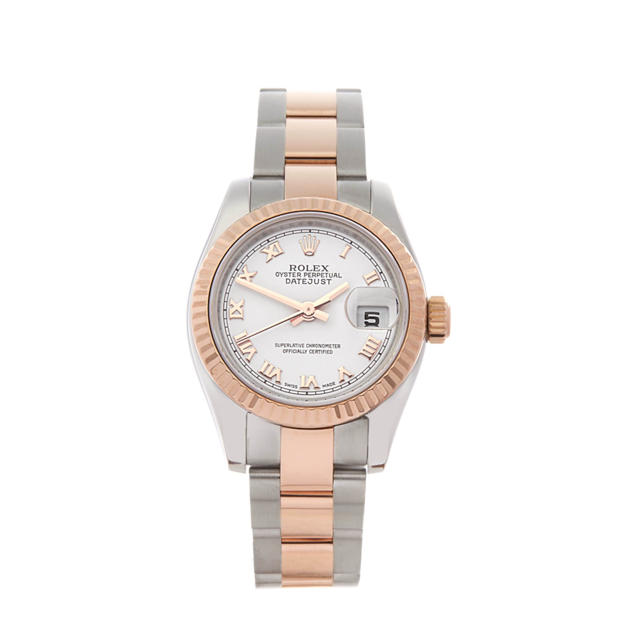 Rolex Datejust 26 Stainless Steel & Rose Gold 179171