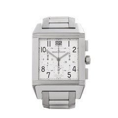 Jaeger-LeCoultre Reverso Squadra Chronograph Automatic Stainless Steel - 230.8.45 / Q7018420