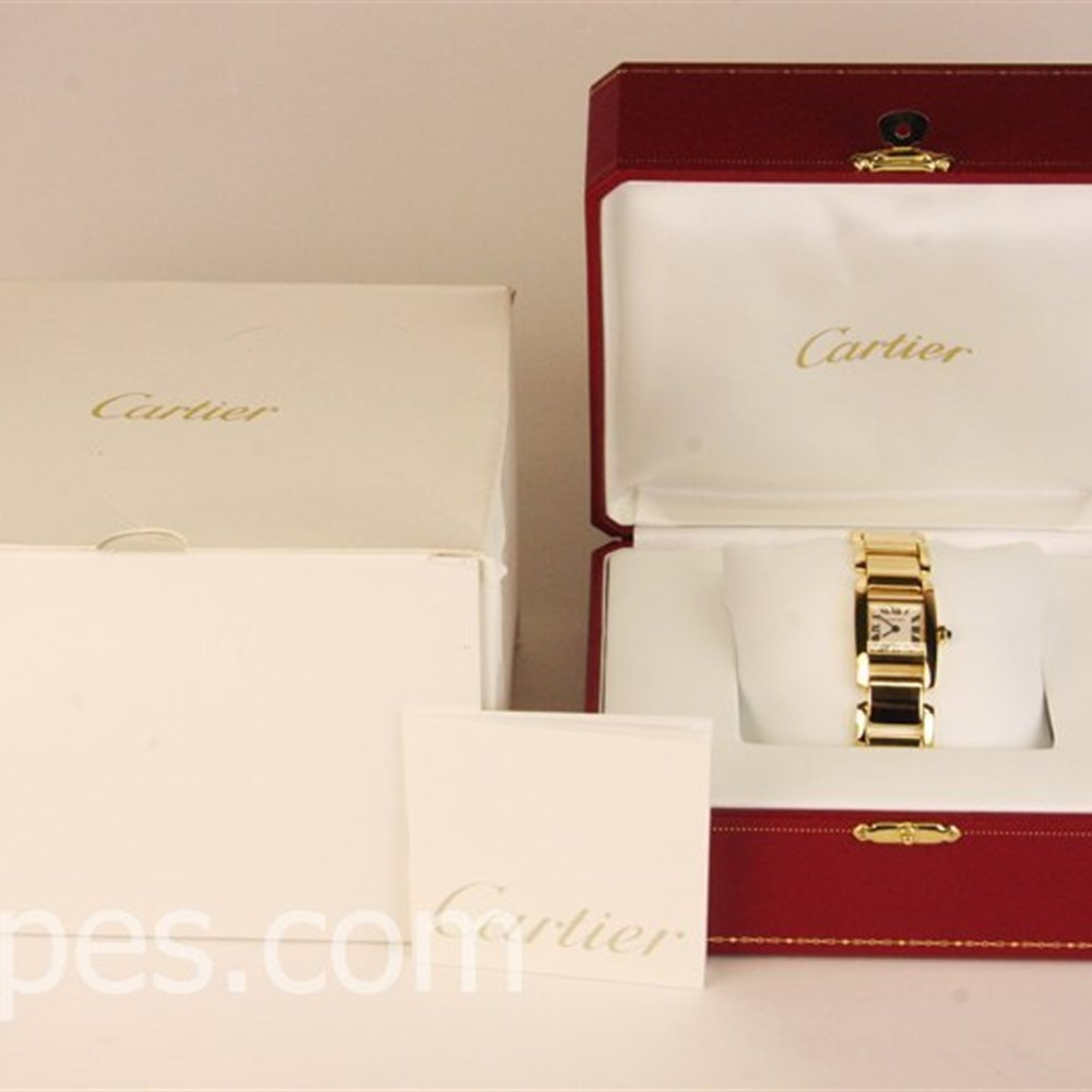 Cartier Tankissime 18k Yellow Gold ********