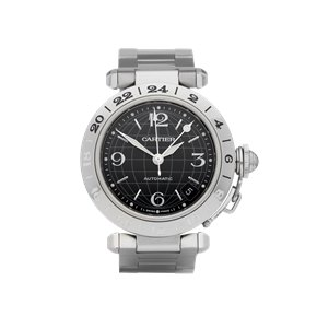 Cartier Pasha de Cartier Gmt Stainless Steel - W31079M7 or 2377
