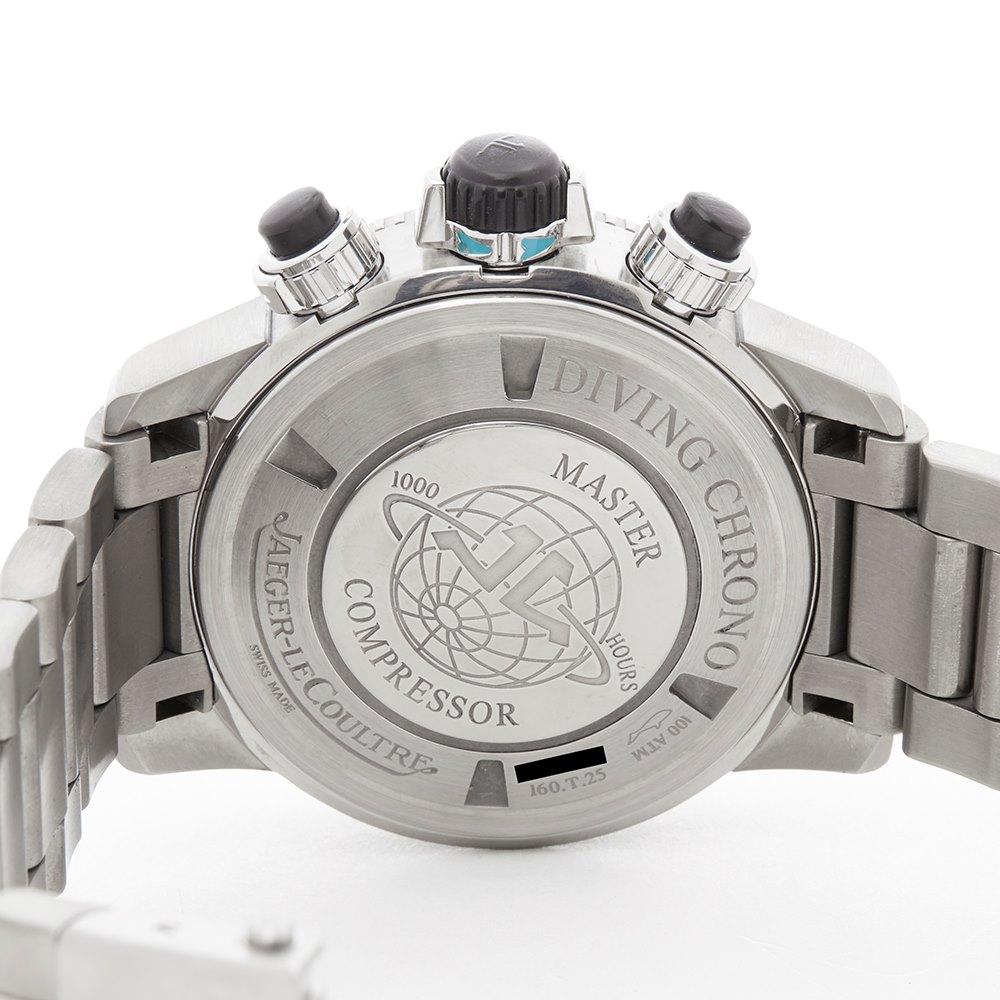 Jaeger-LeCoultre Master Compressor Extreme Diver Chronograph Gmt Titanium 160.T.25