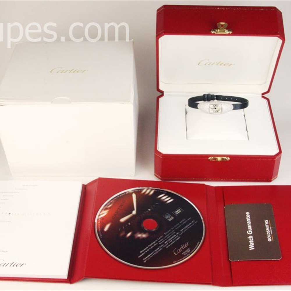 Cartier Libre Casque 18K White Gold ************
