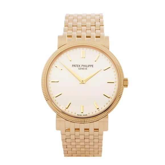 Patek Philippe Calatrava 18k Yellow Gold - 5120J-001