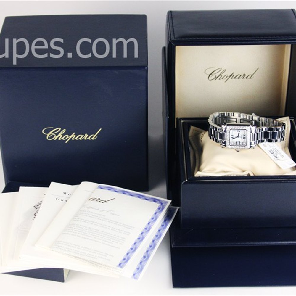 Chopard Happy Sport Stainless Steel/18k White Gold ************