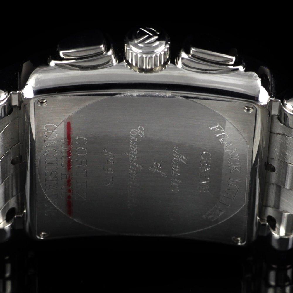 Franck Muller Conquistador Cortez Stainless Steel 10000HCC, 10000 H CC