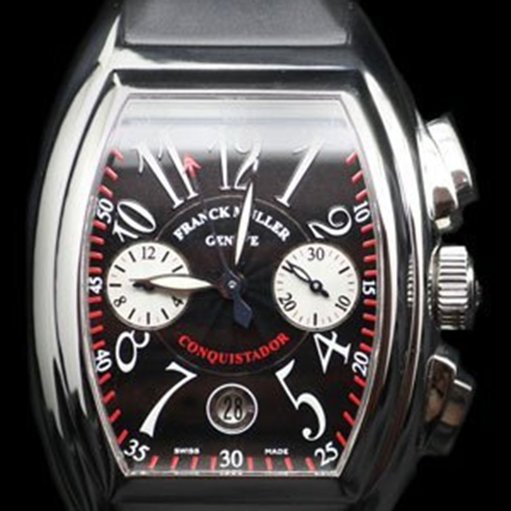 Franck Muller Conquistador Stainless Steel 8005KCC, 8005 K CC