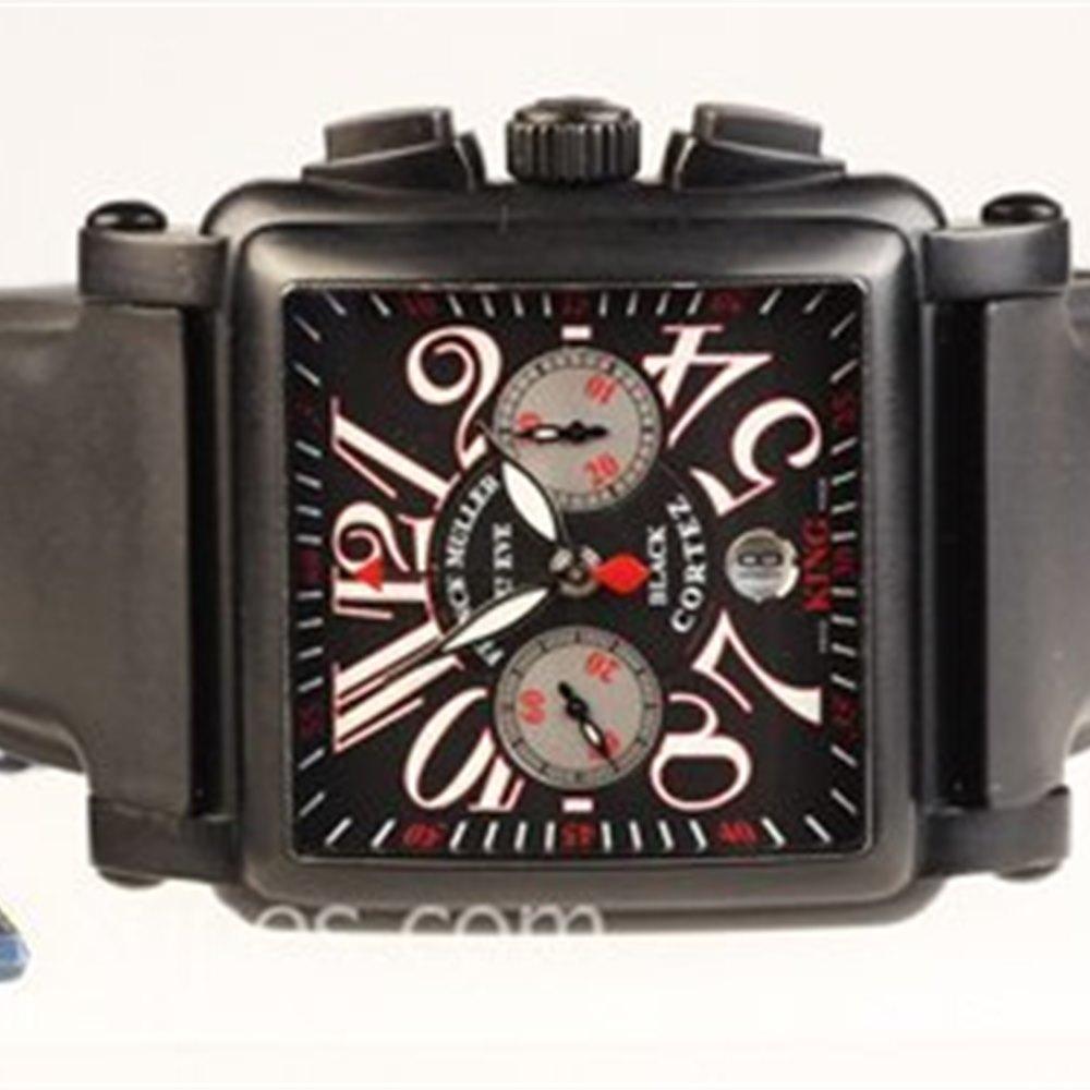 Franck Muller Conquistador Cortez Black Stainless Steel 10000KCCNR, 10000 K CC NR