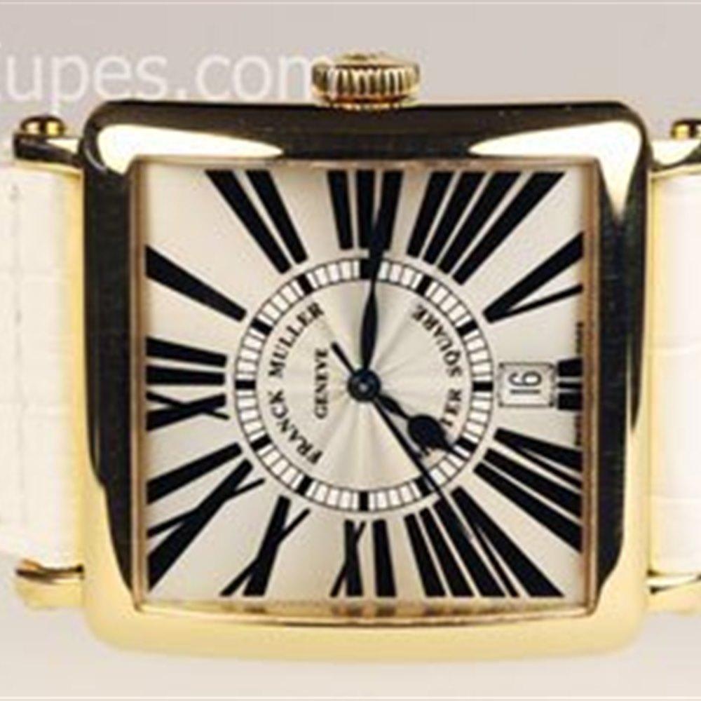 Franck Muller Master Square 18K Yellow Gold 6000HSC, 6000 H SC