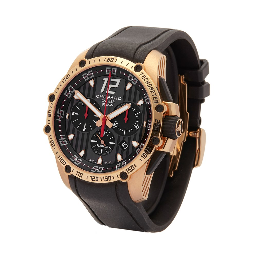 Chopard Classic Racing Superfast Chrono 2013 Rose Gold 161284-5001
