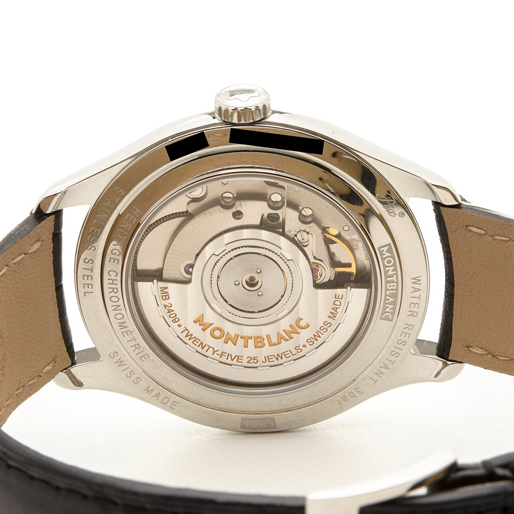 Montblanc Heritage Stainless Steel 112520