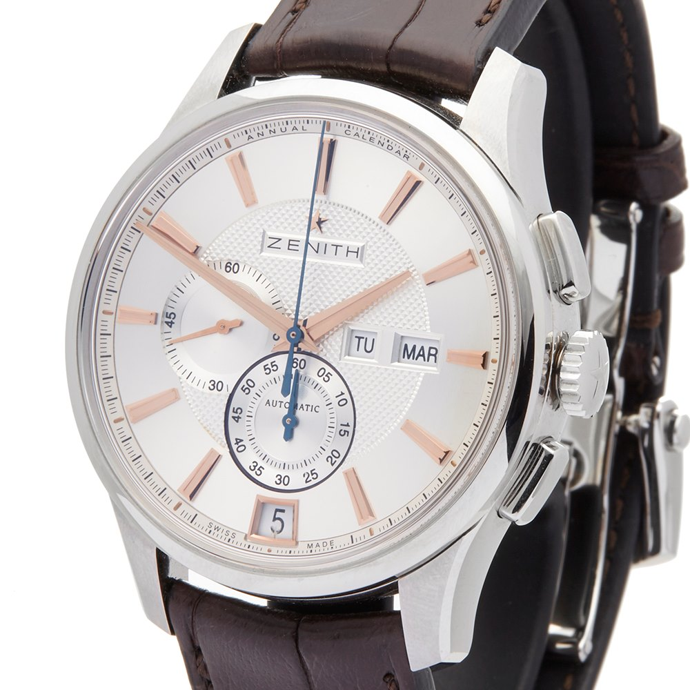 Zenith El Primero Winsor Annual Calendar Chronograph Stainless Steel 03.2070.4054/02.C711