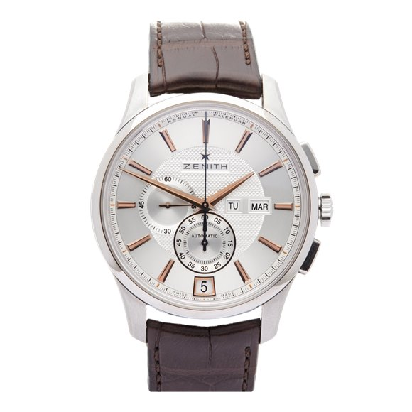 Zenith El Primero Winsor Annual Calendar Chronograph Stainless Steel - 03.2070.4054/02.C711