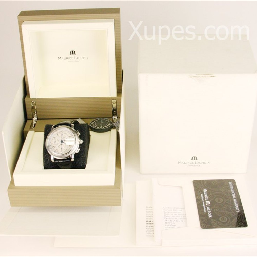 Maurice Lacroix Masterpiece Croneo Stainless Steel MP6318-SS001-11E