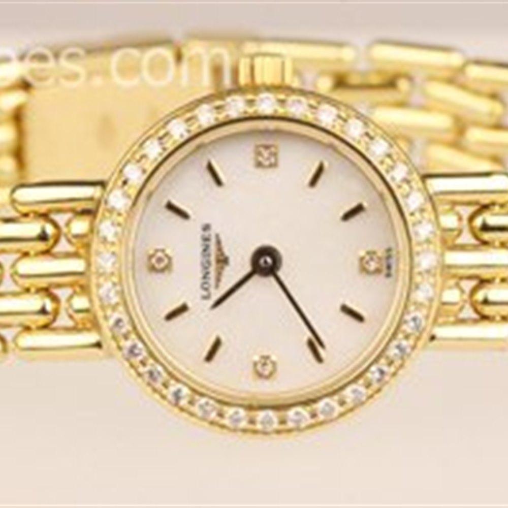 Longines Petite 18K Yellow Gold L242697886.