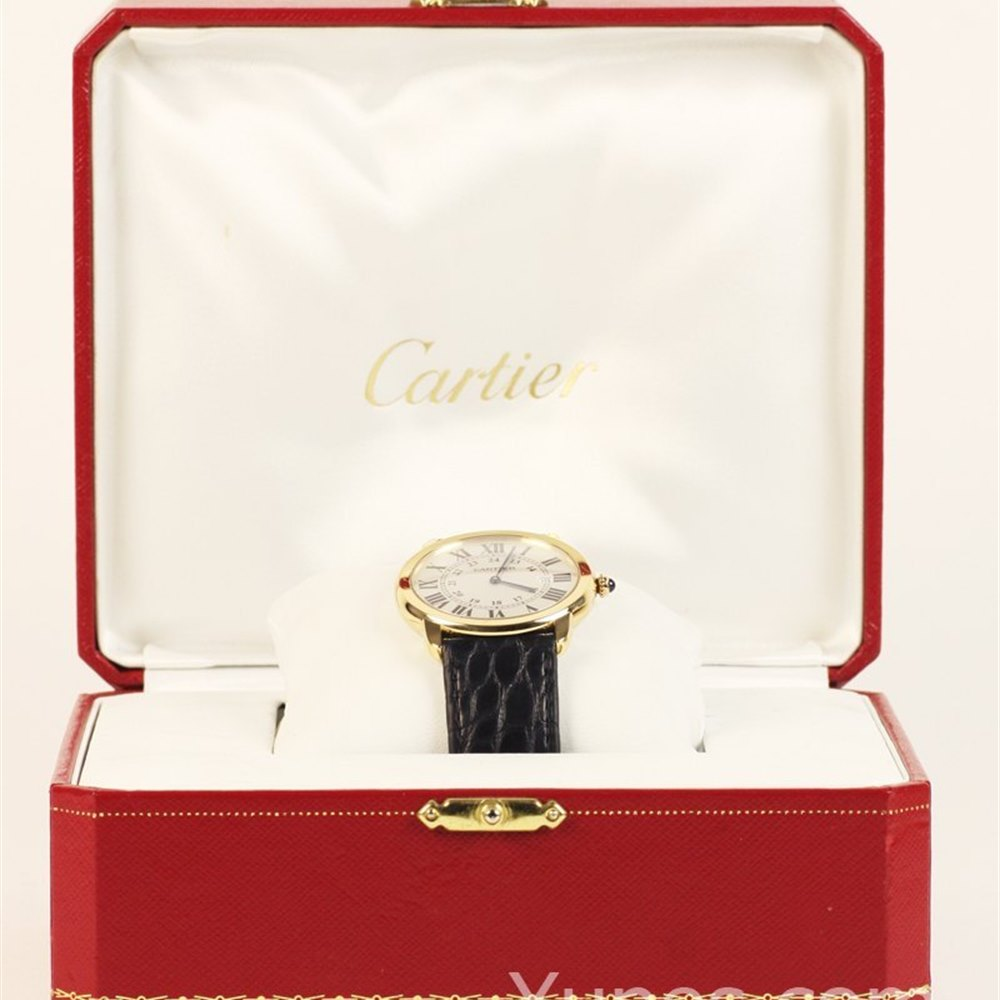 Cartier Ronde Solo 18k Yellow Gold W6700455