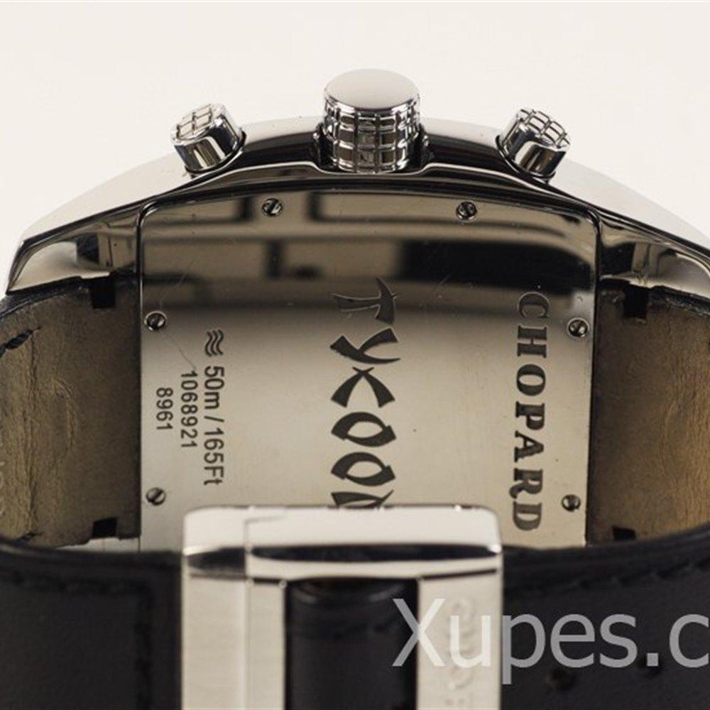 Chopard Two O Ten Stainless Steel/Platinum Bezel 16-8961