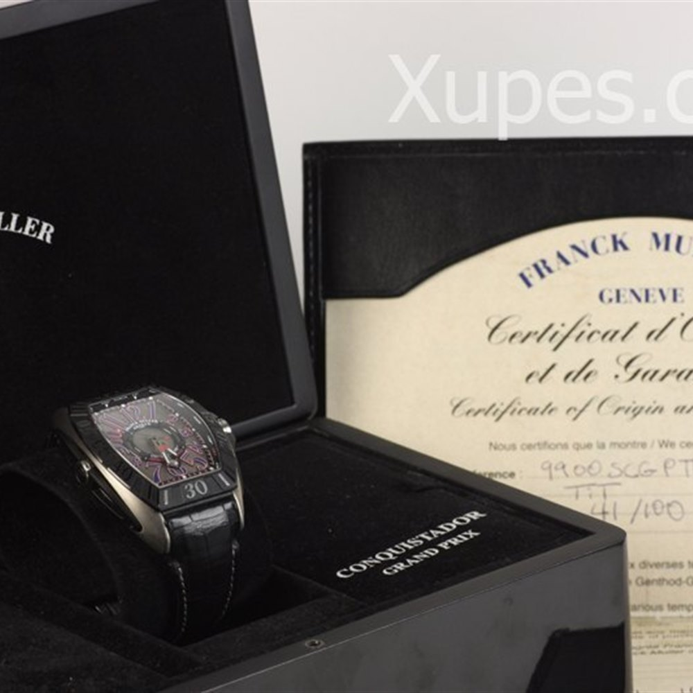 Franck Muller Conquistador Grand Prix Titanium 9900SCGP