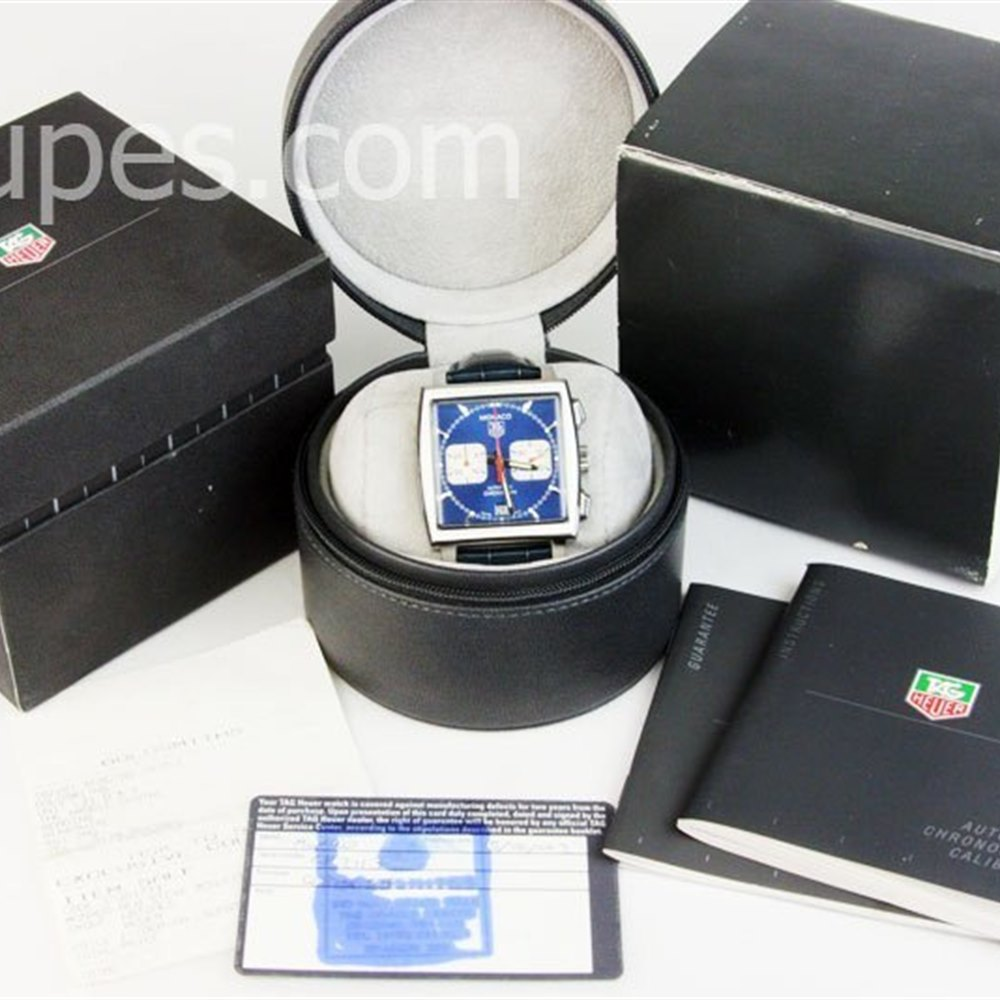 Tag Heuer Monaco Stainless Steel AW2113.LE6183