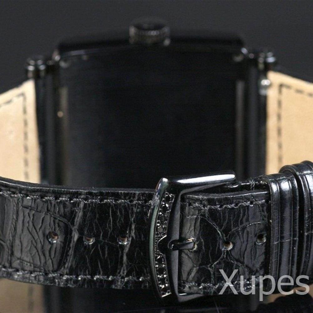 Franck Muller Master Square Black Stainless Steel 000HSCDTNRCD