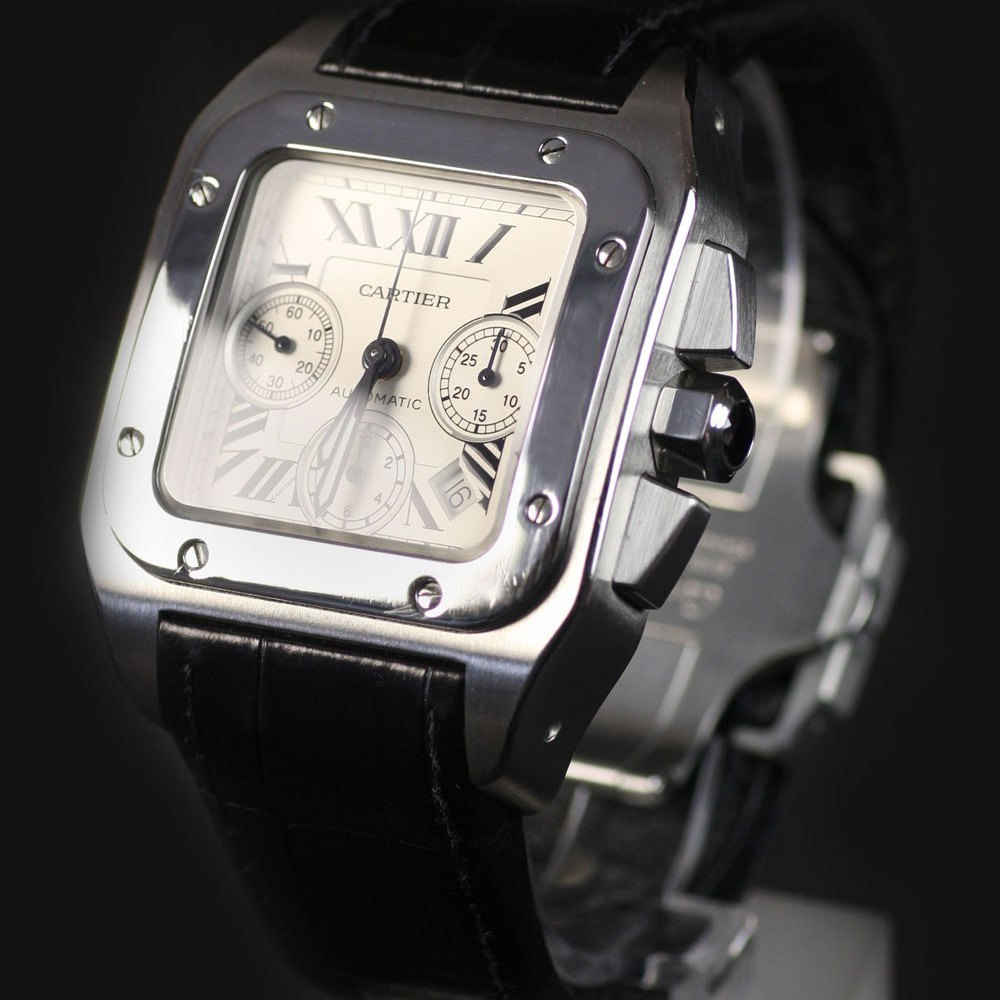 Cartier Santos Stainless Steel W20090X8