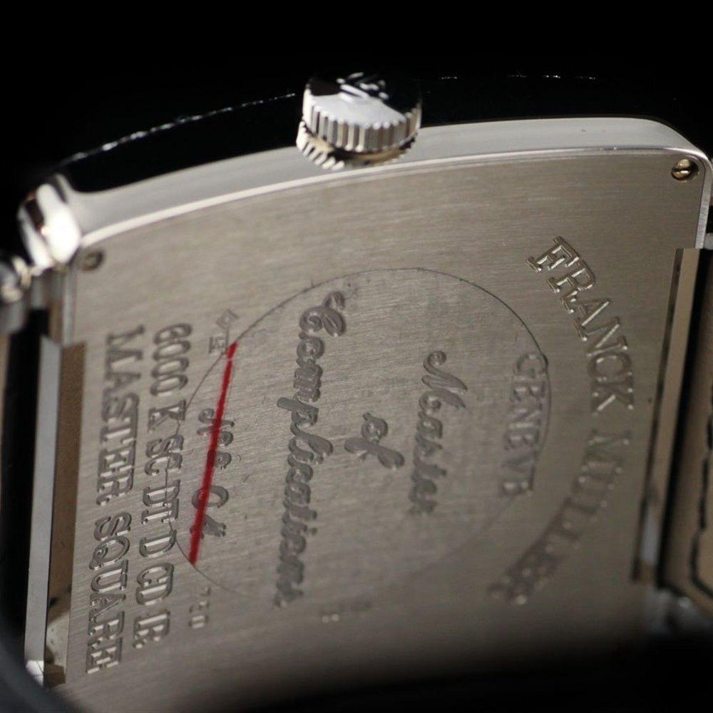 Franck Muller Master Square 18k White Gold 6000 KSC DT D CD 1R