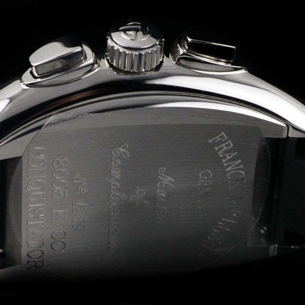 Franck Muller Conquistador Stainless Steel 8005 K CC