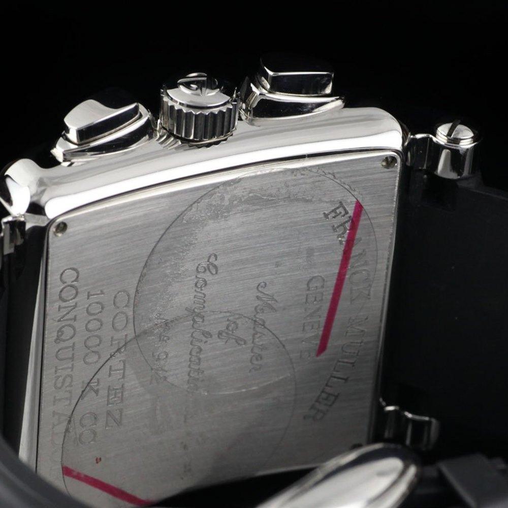 Franck Muller Conquistador Cortez Stainless Steel 10000 K CC