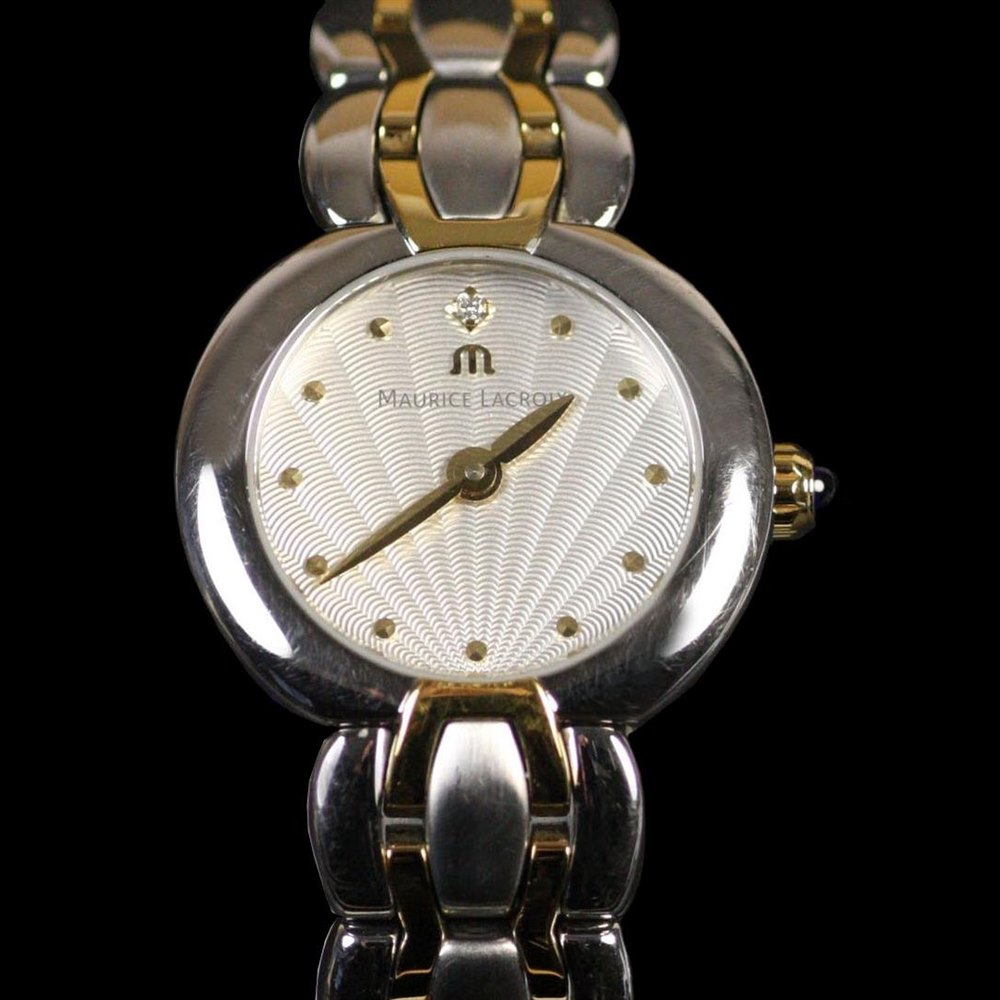 Maurice Lacroix Selena Stainless Steel/18k Plated SE1021-SY013-150