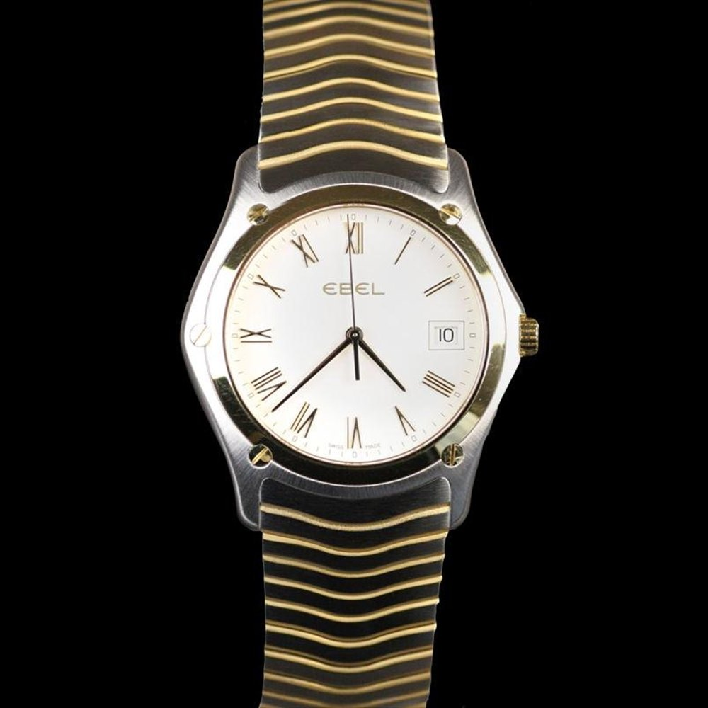Ebel Classic Stainless Steel/18k Yellow Gold 1255F41/0225