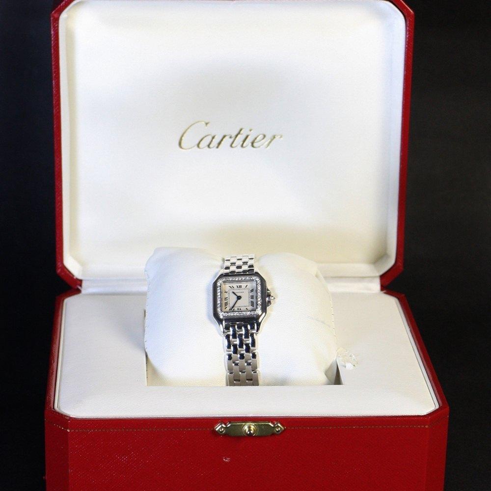 Cartier Panthère 18k White Gold