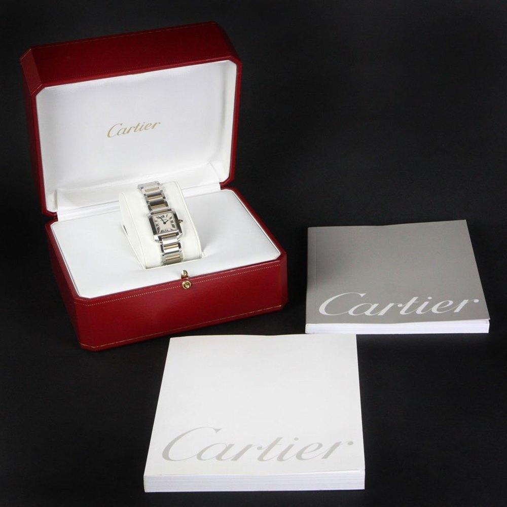 Cartier Tank Francaise 18k Yellow Gold/Stainless Steel W51007Q4