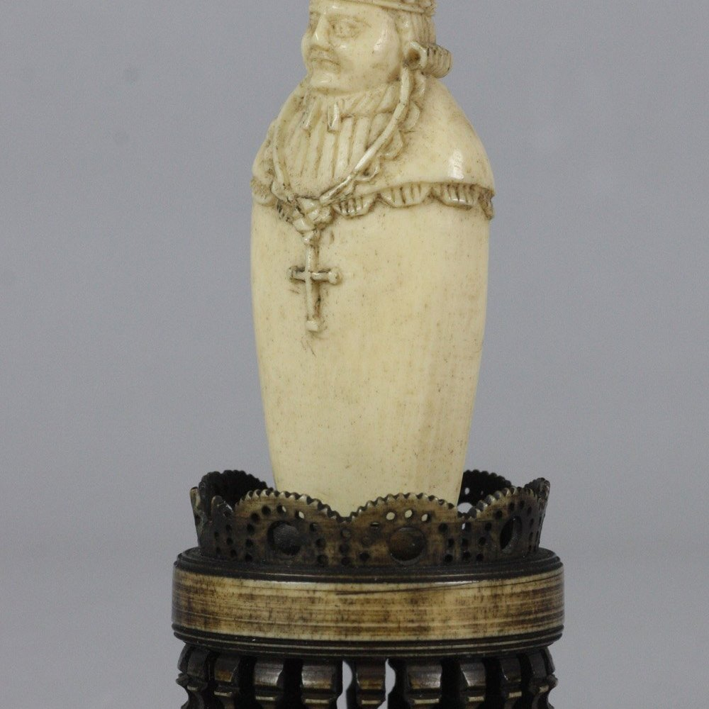BISHOP CHESS PIECE Dates from the 18th century