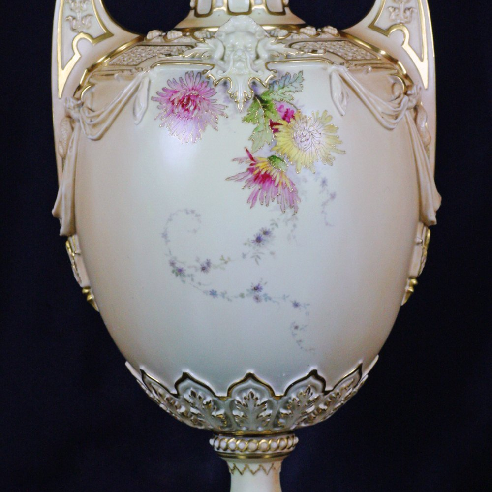 ROYAL WORCESTER Designed in 1889 with date marks for 1893