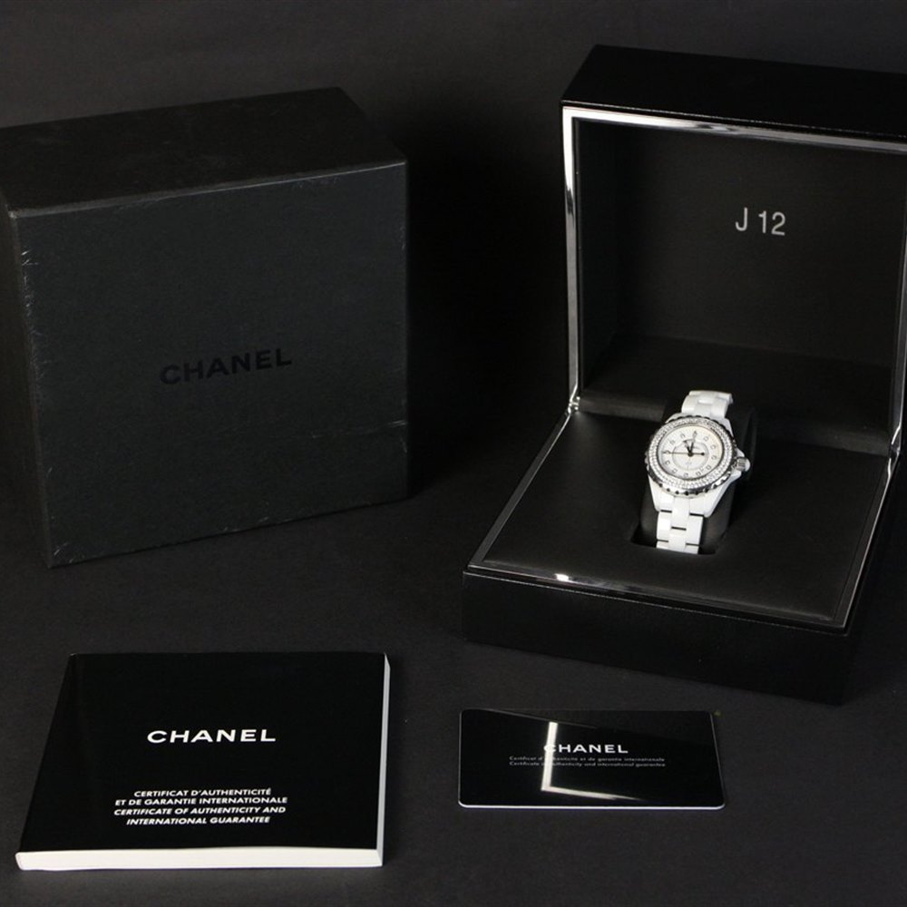 Chanel J12 White Ceramic h1008