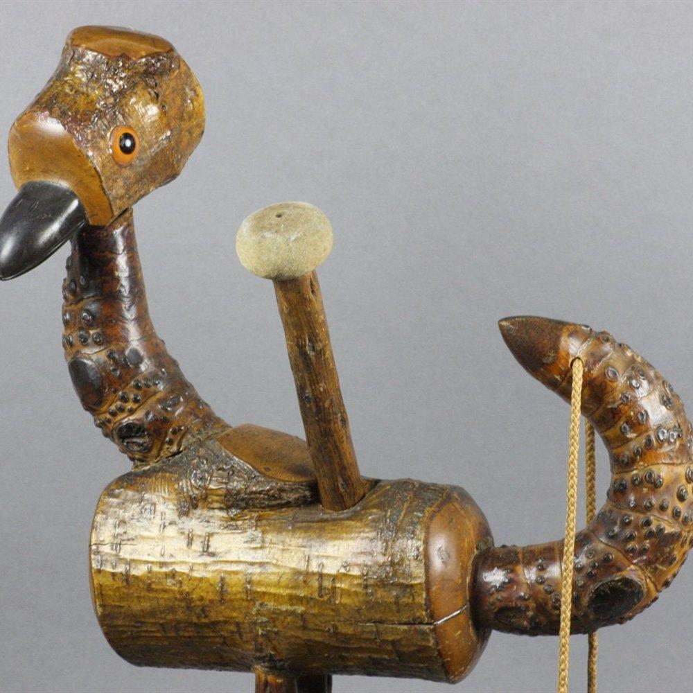 DUNHILL NUTBIRD SMOKERS GONG Circa 1930