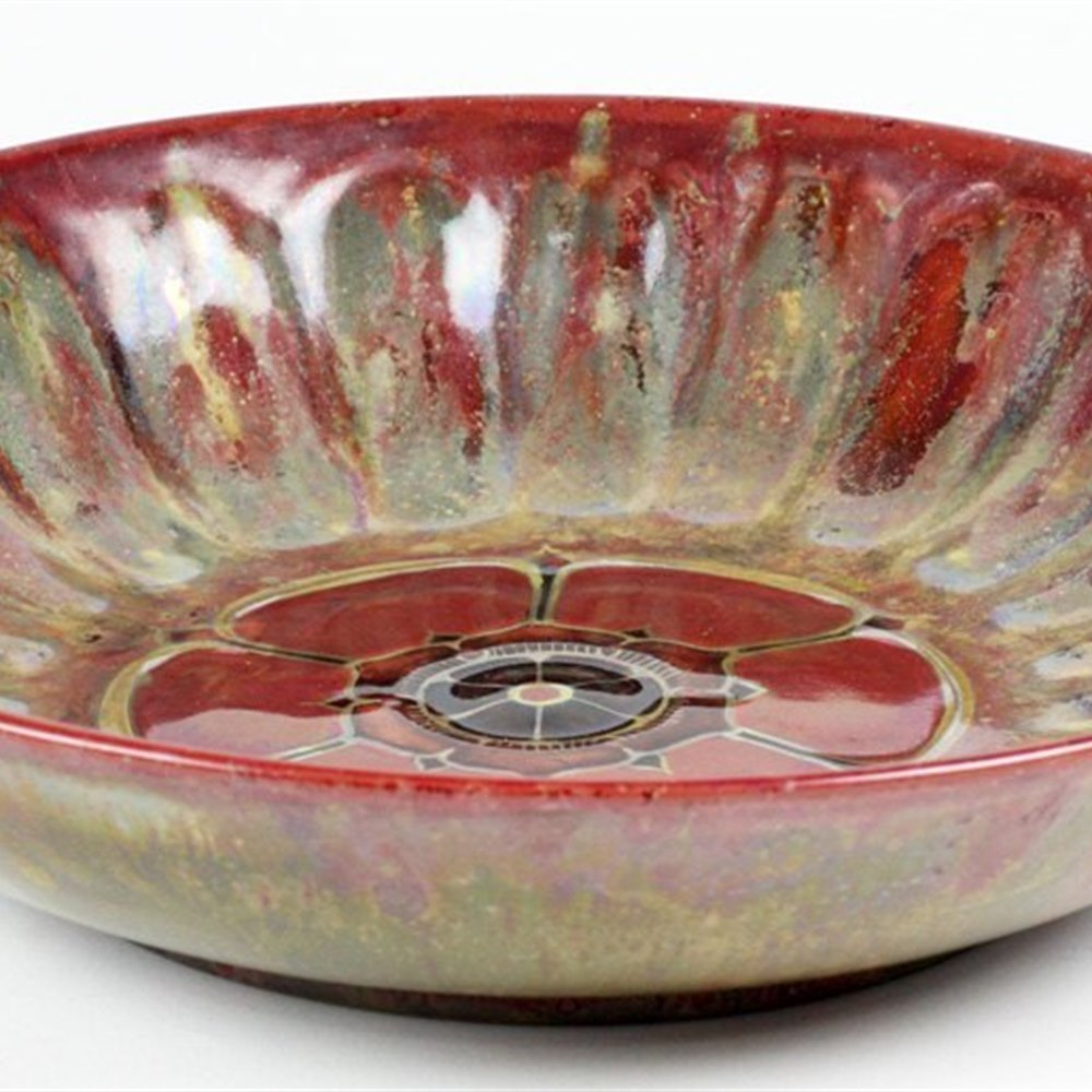 ***REDUCED*** PILKINGTON LUSTRE GLAZED BOWL Early 20th Century
