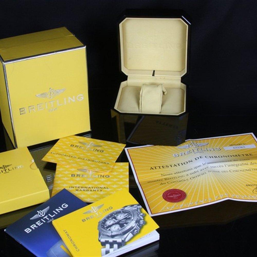Breitling Chronomat Stainless Steel/18K Yellow Gold B13352