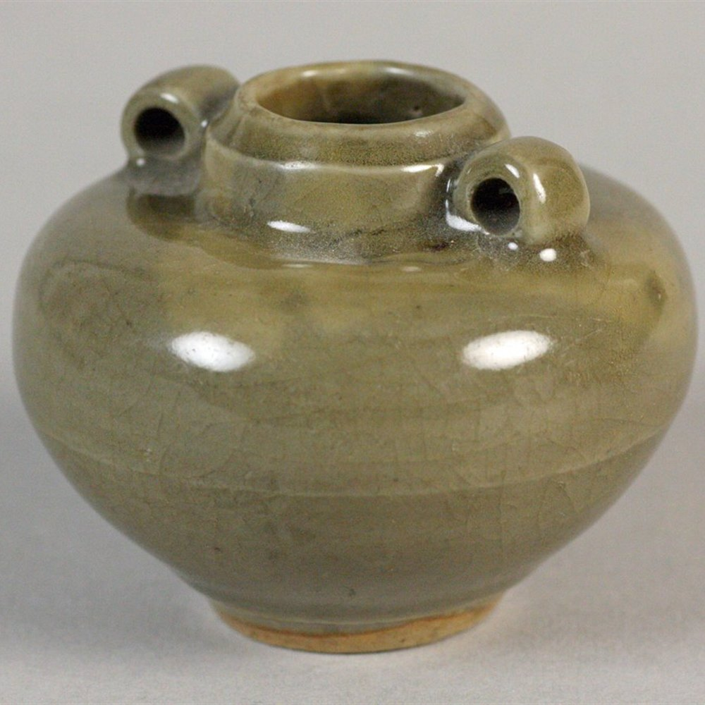 CHINESE TWIN HANDLED VASE Song Dynasty 960-1279